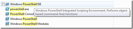 powershell in windows 7